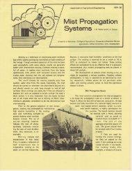 Mist Propagation - BAE Home - University of Kentucky