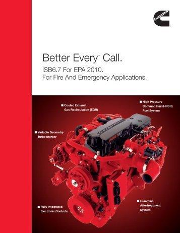 EPA-2010 - Cummins Engines