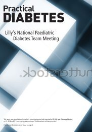 to download the report from the 2011 National Paediatric Diabetes ...