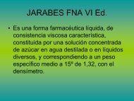 JARABES FNA VI Ed.