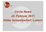 Circle News 22. Februar 2011 Hotel Schweizerhof, Luzern - Event ...