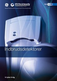 Brochure - UTC Fire & Security - Danmark