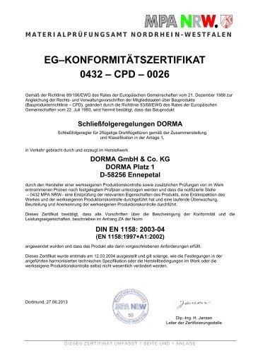 Zertifikat EFB - Elw.de