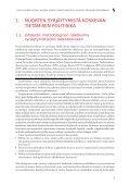 Nuoria koskeva syrjäytymistieto - Nuorisotutkimusseura - Page 5
