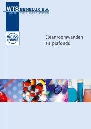 Cleanroomwanden en plafonds - WTS Benelux BV