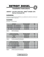18SP637 – Kit (P/N: 23537165) - DDEC® VI MCM / CPC ... - ddcsn