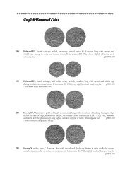 English Hammered Coins English Hammered Coins - St James's ...