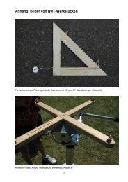 Anhang: Bilder von NwT-Werkstücken
