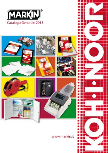 scarica il catalogo Markin - Koh-I-Noor
