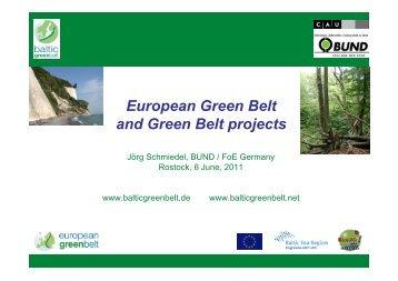 European Green Belt and Green Belt projects - Baltic Green Belt