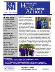 June 2013 ENewsletter - Crohn's and Colitis Foundation of America