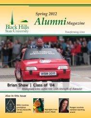 Spring 2012 Alumni - Black Hills State University