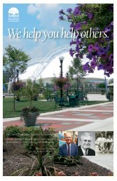 2009-2010 Report to the Community - The Dayton Foundation