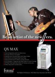 QX MAX - Fotona