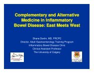 Complementary and Alternative Medicine in Inflammatory Bowel ...