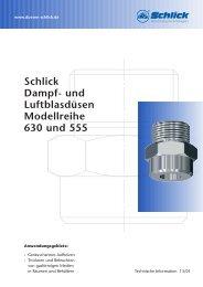 Schlick Dampf - Düsen-Schlick GmbH