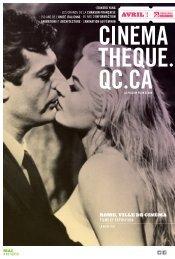 Télécharger (pdf - 2.13 Mo) - La Cinémathèque québécoise