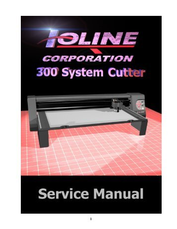 See the 200 System Service Manual - Ioline Corporation