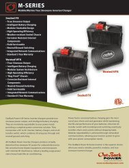 M-SERIES - OutBack Power Systems