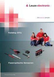 Faseroptische Sensoren Katalog 2012 - Leuze electronic