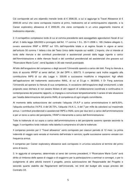 Collaborazione Coordinata e Continuativa - Dimeca - Università ...