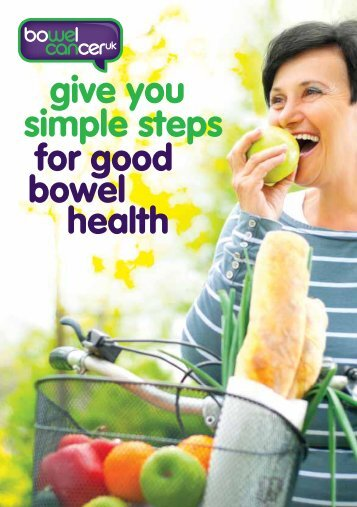Good Bowel Health booklet - Bowel Cancer UK
