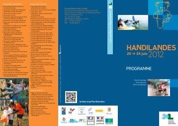 Handilandes - Conseil général des Landes