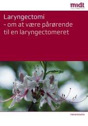 Laryngectomi - Region Midtjylland