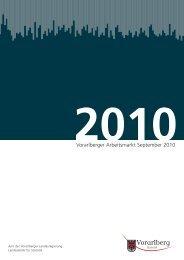 Vorarlberger Arbeitsmarkt September 2010
