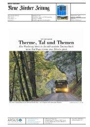 Neue Zürcher Zeitung - Bad Ragartz