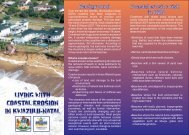KZN Coastal Erosion Crisis - Department of Agriculture and ...