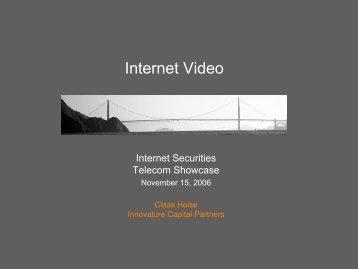Internet Video - Internet Securities