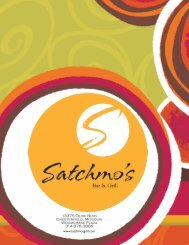 Eclectic American Bar Food  - Satchmo's