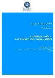 La Méditerranée : une histoire d'un monde global - Mot de passe…