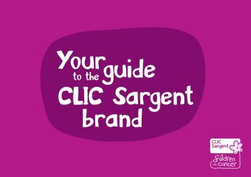 Your guide to the CLIC Sargent brand