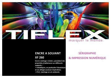 ENCRE A SOlvANt XF 260 - Tiflex