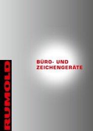 BÜRO- UND ZEICHENGERäTE - Rumold