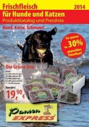 Frischfleisch für Hunde und Katzen - Emsland, Grafschaft Bentheim ...