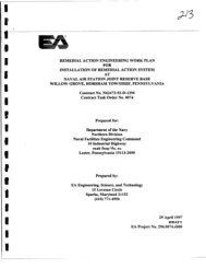 ea engineering: report: remedial action engineering work plan for ...