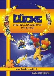 Spielstraße - LÜCKE-Veranstaltungsservice für Kinder