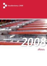 Vuosikertomus 2008 - Aldata