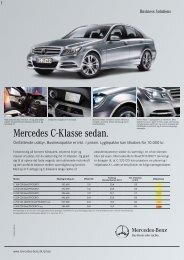 Mercedes C-Klasse sedan.
