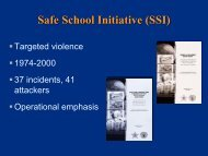 School Threat Assessment Webinar Slides - Homelandplanning ...