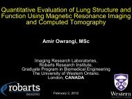 February 2, 2012 Round Table - Robarts Imaging - Robarts ...