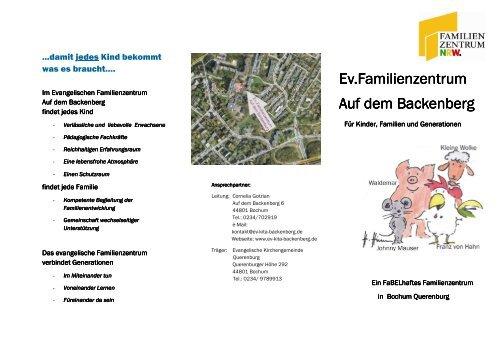 Ev. Familienzentrum Auf dem Backenberg - Evangelische ...