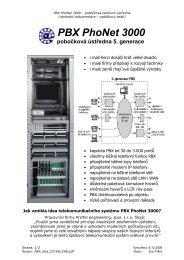 PBX PhoNet 3000