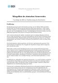 BDI Mängelliste des deutschen Steuerrechts - Seite 4