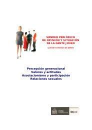 Principales conclusiones (602 Kb.) - Injuve