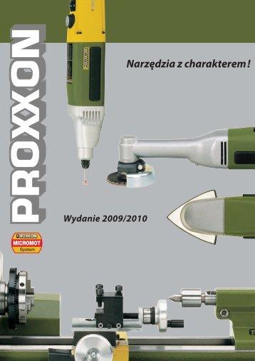 Katalog Proxxon - Portal Narzędziowy