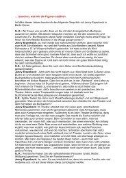 Interview mit Jenny Erpenbeck - Evangelischer Buchpreis